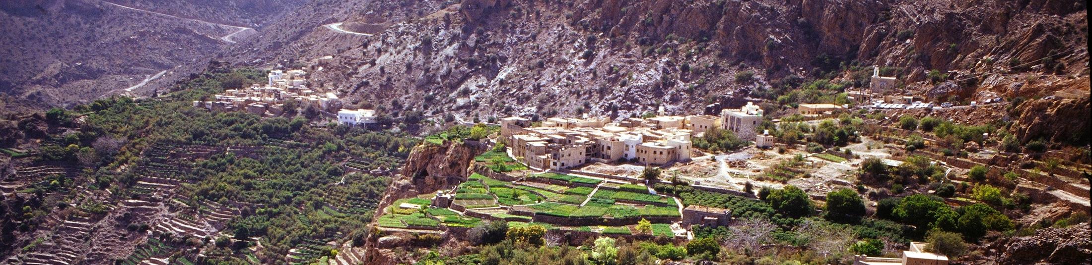 Un Anantara haut perché à Oman - Bannière