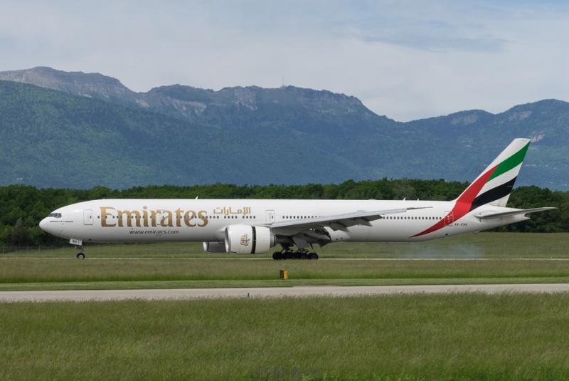 web Check-in anticipé sur Emirates
